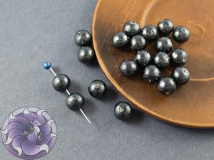 Хлопковый жемчуг Cotton Pearls 8mm Black Japan