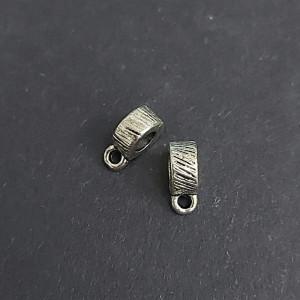 Бейл для украшений 8х3х5 цвет Серебро
