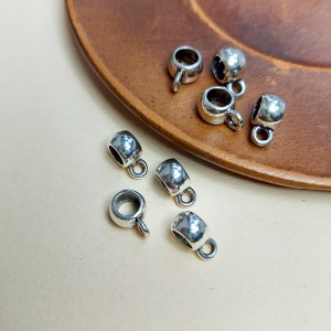 Бейл для украшений 8х5х6 цвет Серебро