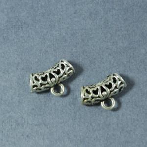Бейл для украшений 14х9х5 цвет Серебро