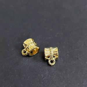Бейл для украшений 7х10х7 цвет Золото