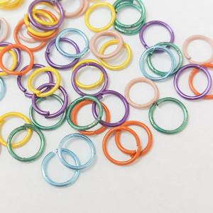 Соединительные кольца 6мм, 2г упаковка Микс Разноцветный