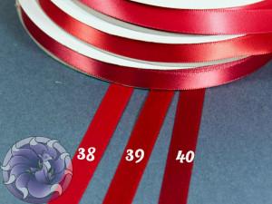 Лента атласная 12 мм Красная палитра