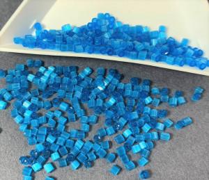 Бисер рубка 10/0 Preciosa сатиновый 5г, Синий