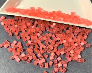 Бисер рубка 10/0 Preciosa сатиновый 5г, Коралловый