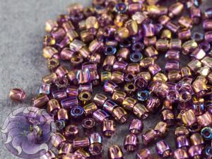 Бисер богемский Preciosa 3 cut 9/0 Transparent Amethyst AB