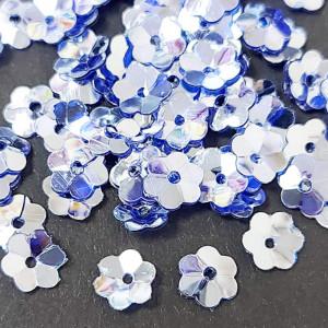 Пайетки фигурные, 5г, Цветок 5мм, 5116