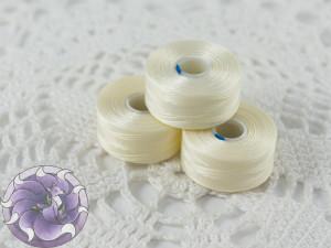 Нить для бисера C-LON size AA Cream