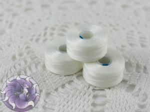 Нить для бисера C-LON size AA White