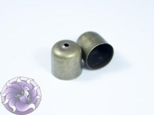 Концевик для шнуров, жгута и кистей 10х11мм цвет Бронза