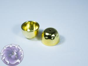 Концевик для шнуров, жгута и кистей 13х9мм цвет Золото