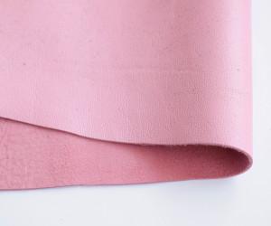 Кожа натуральная итальянская 0,6мм Розовая
