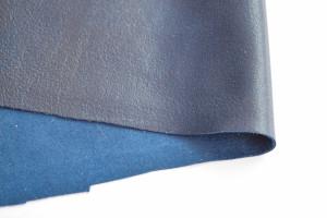 Кожа натуральная итальянская 0,6мм Синий