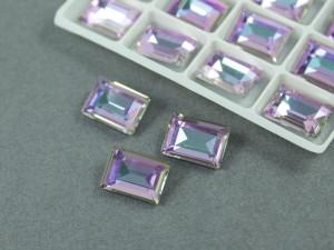 Кристалл форма Багет 10*14мм, цвет Vitrail Light