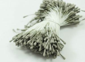 Тычинки матовые двусторонние Цвет Серый