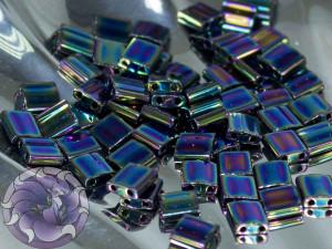 Бисер Miyuki Tila цвет Met Variegated Blue Iris 5 грам