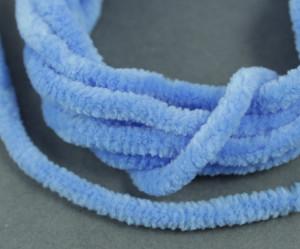 Синель круглая Турция Полиэстр 5мм Синий
