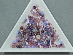 Бисер TOHO 9г, Микс Kimono- Lilac