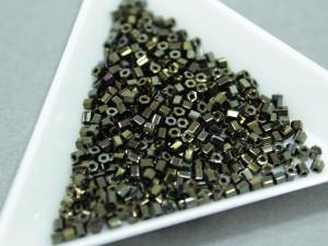 Бисер 5г TOHO- Hexagon 11/0 Metallic Iris- Brown
