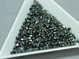 Бисер 5г TOHO- Hexagon 11/0 Metallic Moss