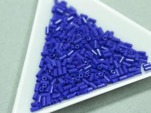 Стеклярус Miyuki 3mm, 5г, Op Cobalt