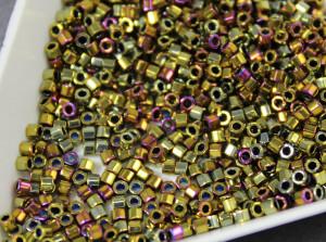 Бисер 5г Miyuki Nex Cut 11/0 Metallic Golden