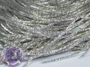 Канитель трунцал 0.7мм цвет Серебро