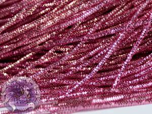 Канитель трунцал 1.5мм цвет Розовая 5г