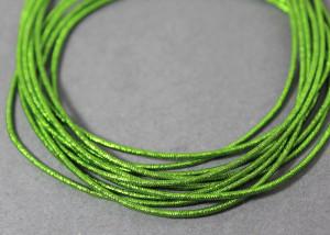 Канитель упругая 1.5мм цвет Яблочный зеленый