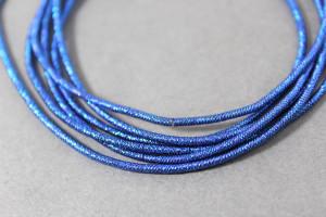 Канитель упругая 1.5мм цвет Синий