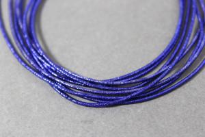 Канитель упругая 1.5мм цвет Сапфировый