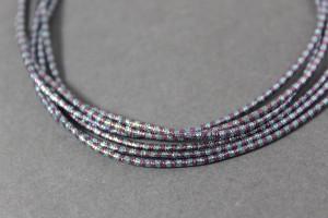 Канитель упругая 1.5мм цвет Микс розовый с серебром
