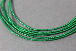 Канитель упругая 1.5мм цвет Зеленый