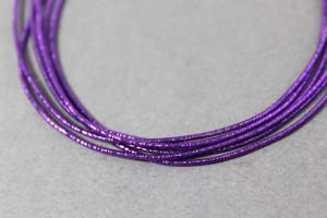 Канитель упругая 1.5мм цвет Фиолетовый