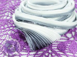 Шовкова стрічка шиборі (Shibori silk ribbon) L201