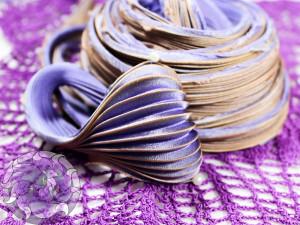 Шелковая Лента Шибори (Shibori silk ribbon) L207