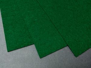 Фетр жесткий 1,2мм А4 20х30мм Темно зеленый
