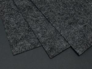 Фетр жесткий 1,2мм А4 20х30мм Темно серый
