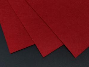 Фетр жесткий 1,2мм А4 20х30мм Красный
