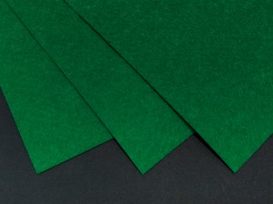 Фетр жесткий 1,2мм А4 20х30мм Зеленый