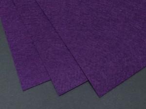 Фетр жесткий 1,2мм А4 20х30мм Фиолетовый