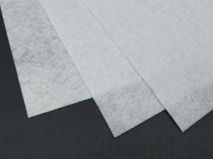 Фетр жесткий 1,2мм А4 20х30мм Белый