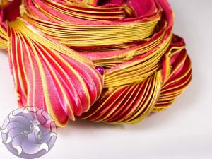 Шелковая Лента Шибори (Shibori silk ribbon) L219
