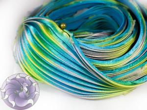 Шелковая Лента Шибори (Shibori silk ribbon) L220