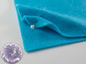 Мягкий фетр А4 20х30см Цвет голубой
