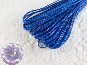 Сутажный шнур Белоруссия люрекс 1.9мм цвет темно-васильковый