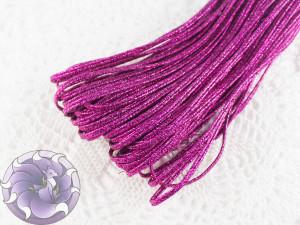 Сутажный шнур Белоруссия люрекс 1.9мм цвет малиновый