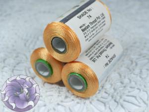 Нитки вискоза для кистей 120D/2 700м цвет №74