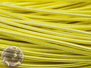 Канитель жесткая 1.3мм цвет Лимонное золото