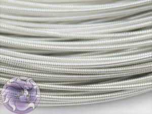 Канитель жесткая 1мм цвет Белое Серебро